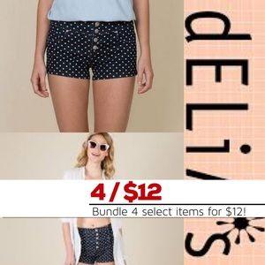 (EUC) dELiA's | High Waisted Shorts